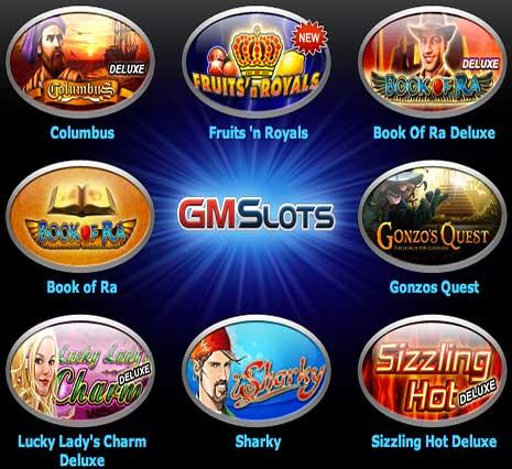 Все игровые аппараты от онлайн-казино GMSlots Гаминатор.