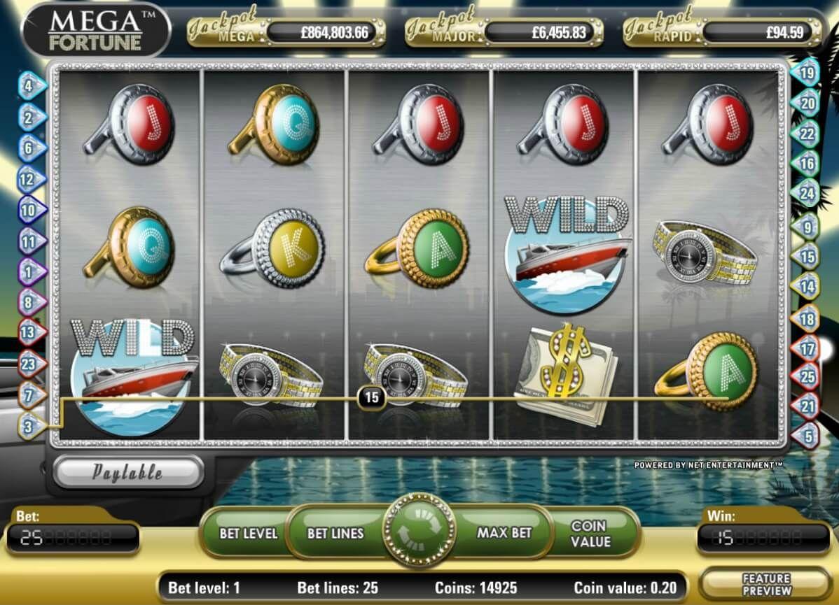 Бесплатная игра Mega Fortune Мега Фортуна от NetEnt — Slots.